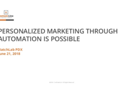 Personalized Marketing Through Automation is Possible image